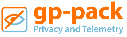 GP-PACK – PRIVACY AND TELEMETRY